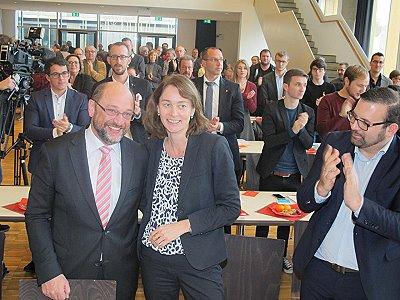 Bundestagswahl: Katarina Barley tritt für die SPD im Wahlkreis Trier/Trier-Saarburg an