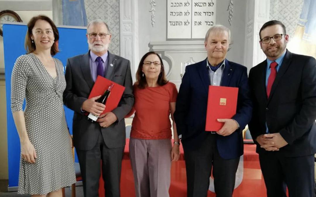 SPD Trier-Saarburg ehrt langjährige Mitglieder