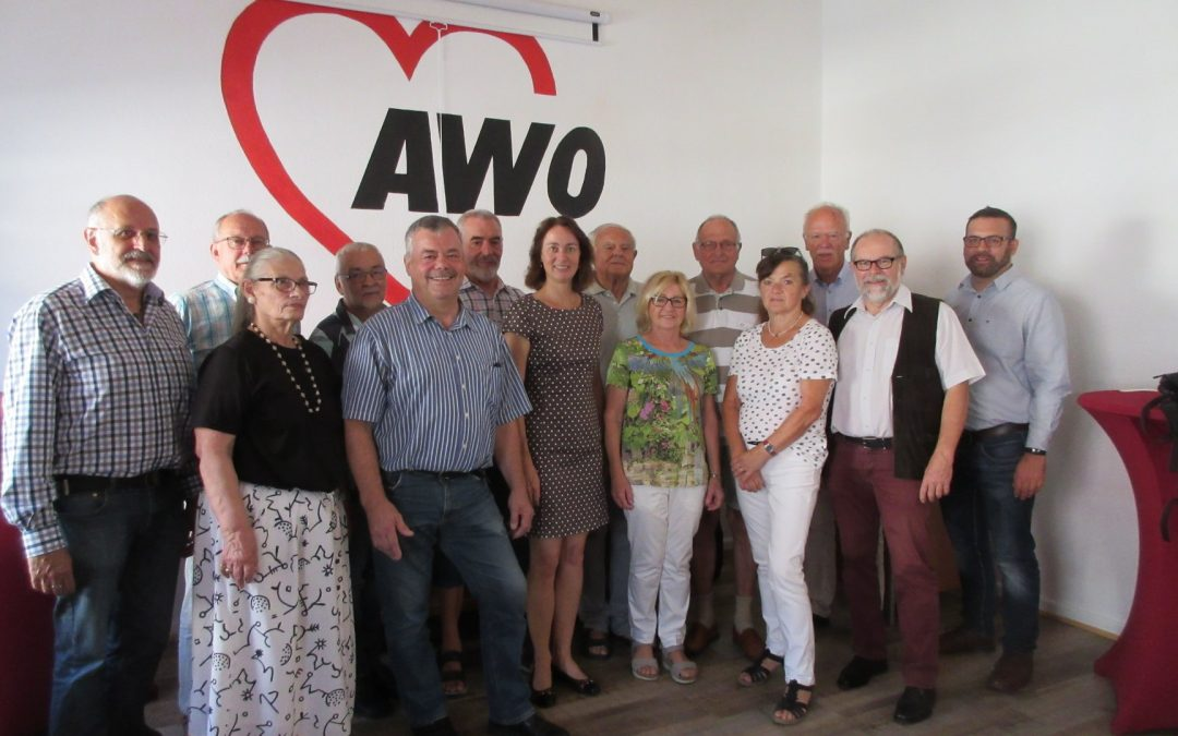 Vorstand der SPD AG60plus Regionalverbands Rheinland besucht Trier/Trier-Saarburg