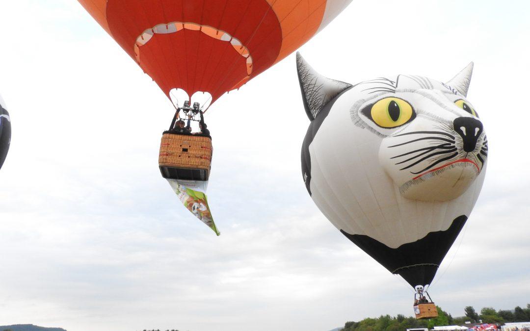 Ballon Fiesta in Föhren