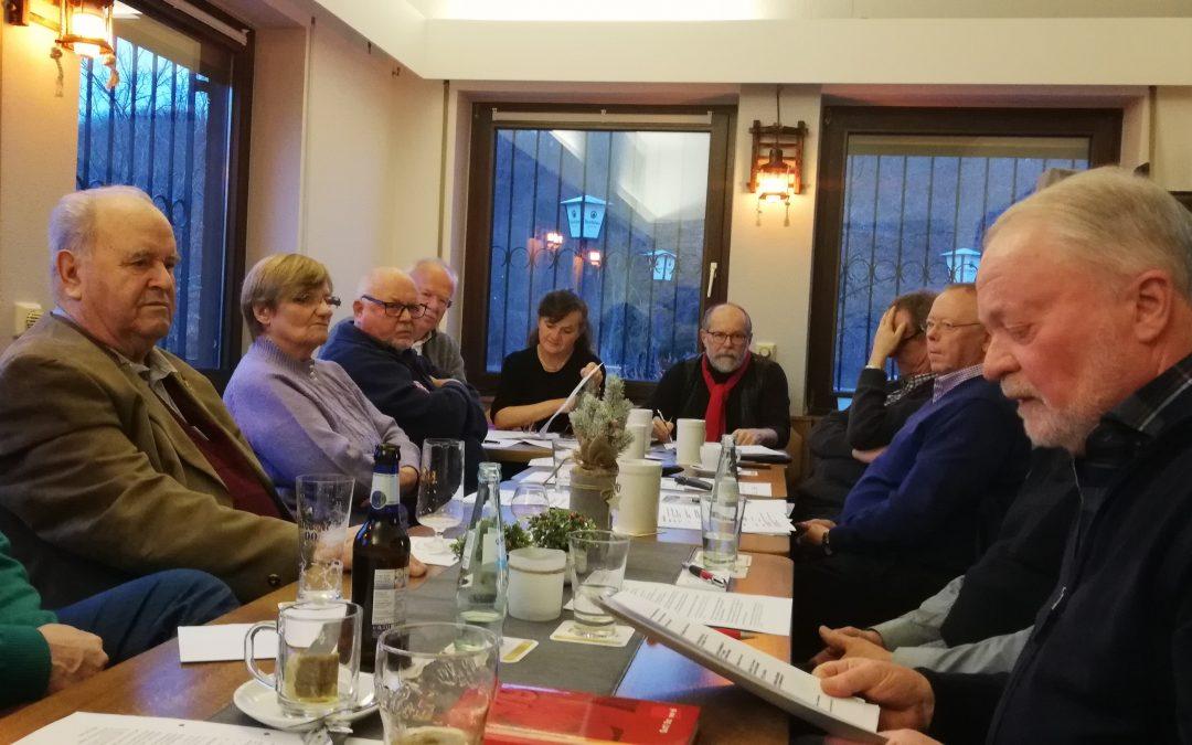 Vorstandssitzung der SPD AG60plus KV Trier-Saarburg
