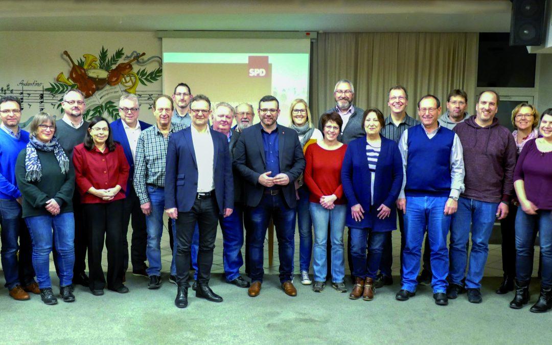 SPD VG Ruwer startet in die Kommunalwahl