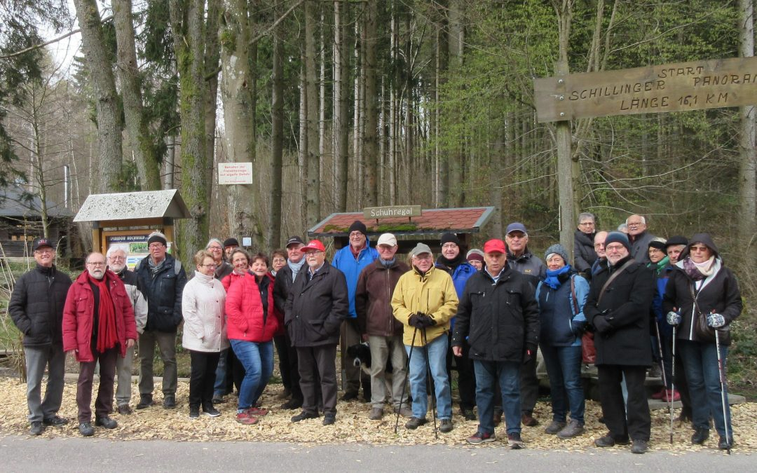 Frühjahrswanderung der SPD AG60plus Kreisverband Trier-Saarburg.