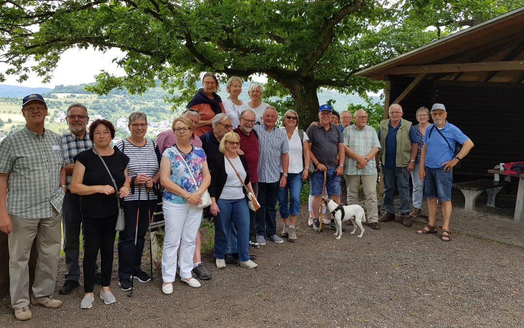 """Wanderung auf dem Panoramawaldweg """"Rund um die Ayler Kupp"""" mit der SPD-AG60plus im Kreisverband Trier-Saarburg"""