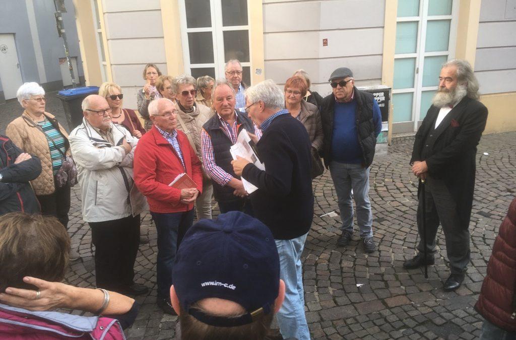 """SPD AG 60 + organisiert Stadtführung in Trier: """" Jüdisches Trier"""""""